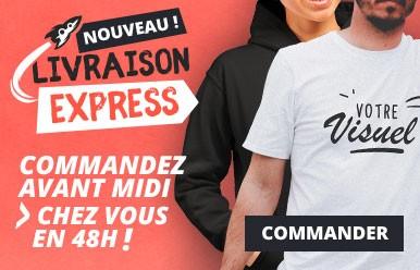 4dfdd87bfb4 Commandez votre t-shirt blanc en livraison express 48H