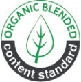 Logo de Organic Blended Content Standard