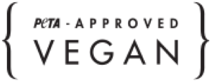 Logo de Peta approved Vegan