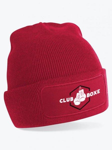 Le bonnet patch B445 à personnaliser en coloris Red