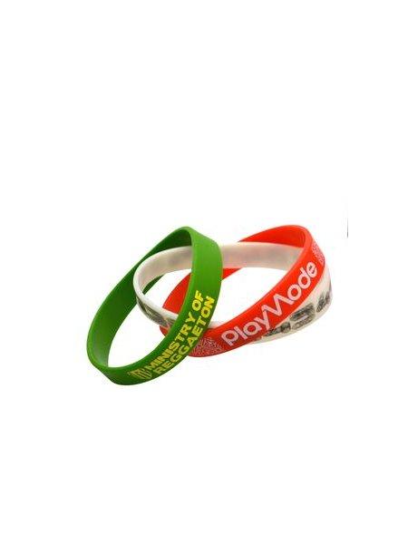 Le bracelet silicone personnalisable disponible dans 16 couleurs