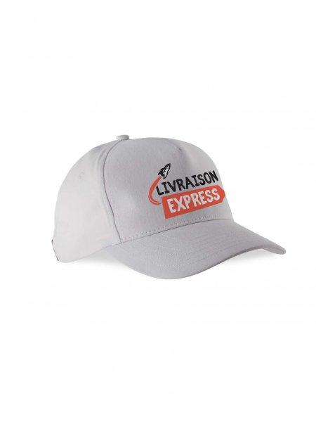 La casquette blanche en livraison express