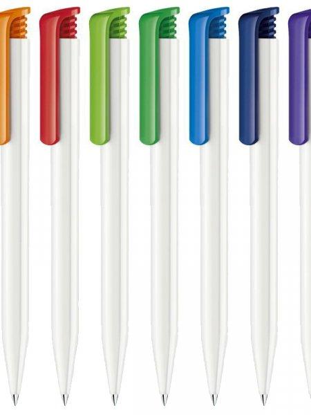 Le stylo à bille Super Hit Polished Basic à personnaliser disponible dans 10 coloris.
