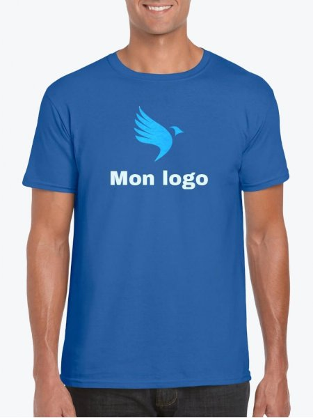 T Shirt Personnalise Pas Cher Col Rond Mister Tee