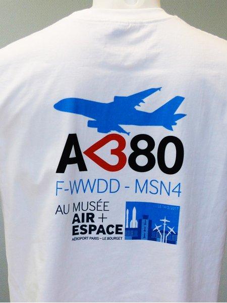 Le t-shirt GI6400 personnalisé avec la technique de marquage DTG, en coloris White