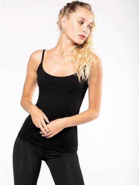 Débardeur pour femme K397 en coloris Black