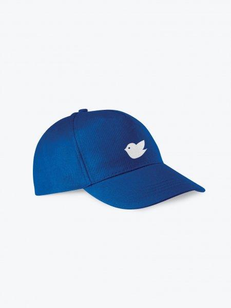 La casquette 5 panneaux KP116 personnalisable en coloris Royal Blue