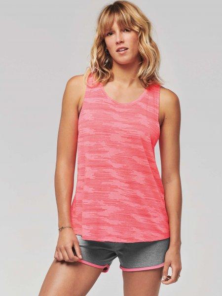 Débardeur pour femme PA4009 en coloris Fluorescent Pink