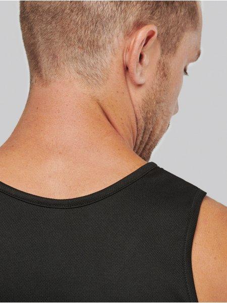 Dos du débardeur de sport pour homme PA441 en coloris Black