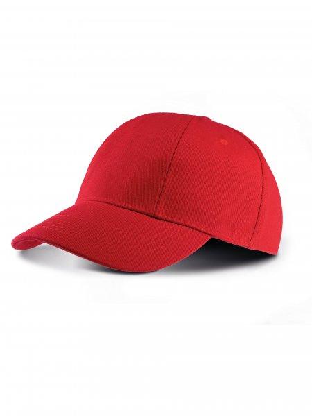 La casquette personnalisable KP119 en coloris Red
