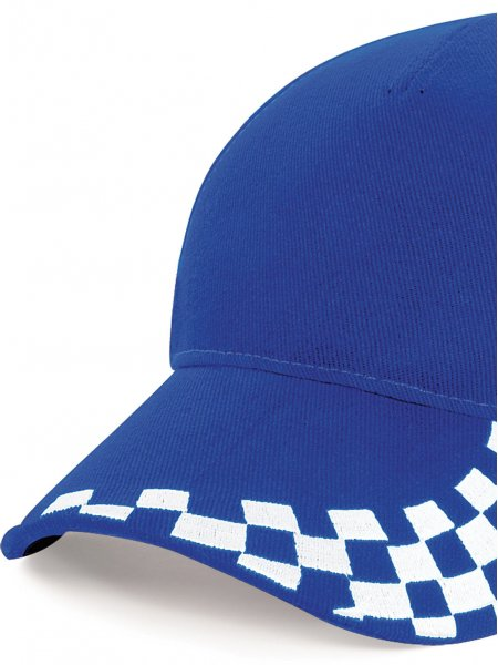La casquette pilote B159 à personnaliser en coloris Bright Royal Blue / White