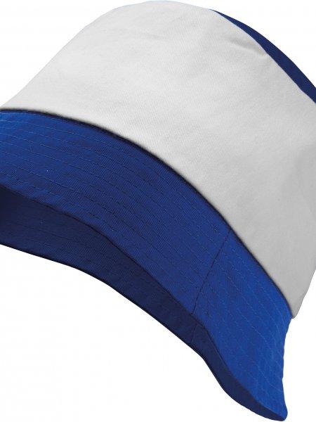 Le bob KP125 personnalisable en coloris Royal Blue / White