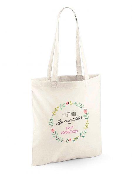 Le tote bag W101 à personnaliser en coloris Natural