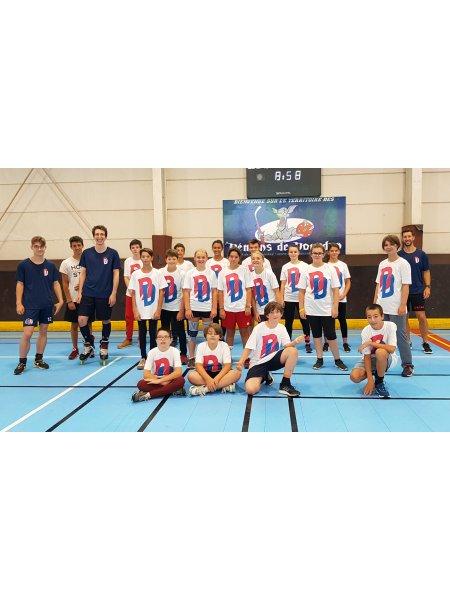T-shirts floqués pour le stage estival du club de Roller Hockey les Démons de Dourdan