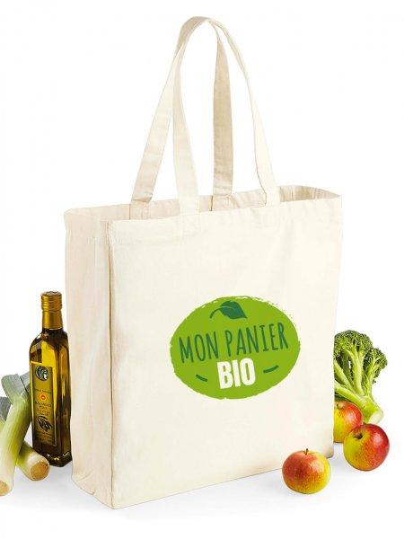 Le sac shopping W108 à personnaliser en coloris Natural