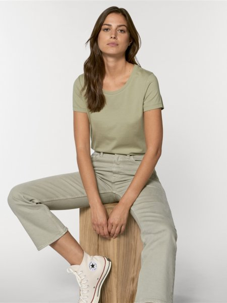 Tee shirt femme Expresser coloris Sage