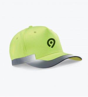 La casquette KP123 à personnaliser en coloris Fluorescent Yellow