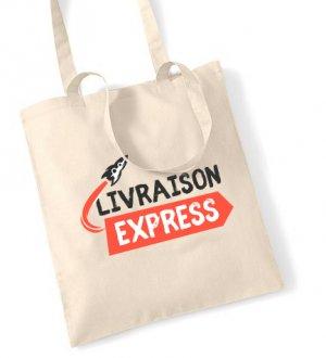 Tote bag en livraison express