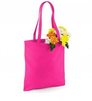 Le tote bag W101 à personnaliser en coloris Fuchsia