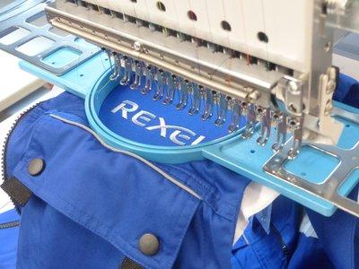 Broderie sur vêtement de travail - disponible sur devis