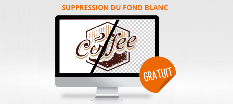 retouche graphique suppression fond blanc